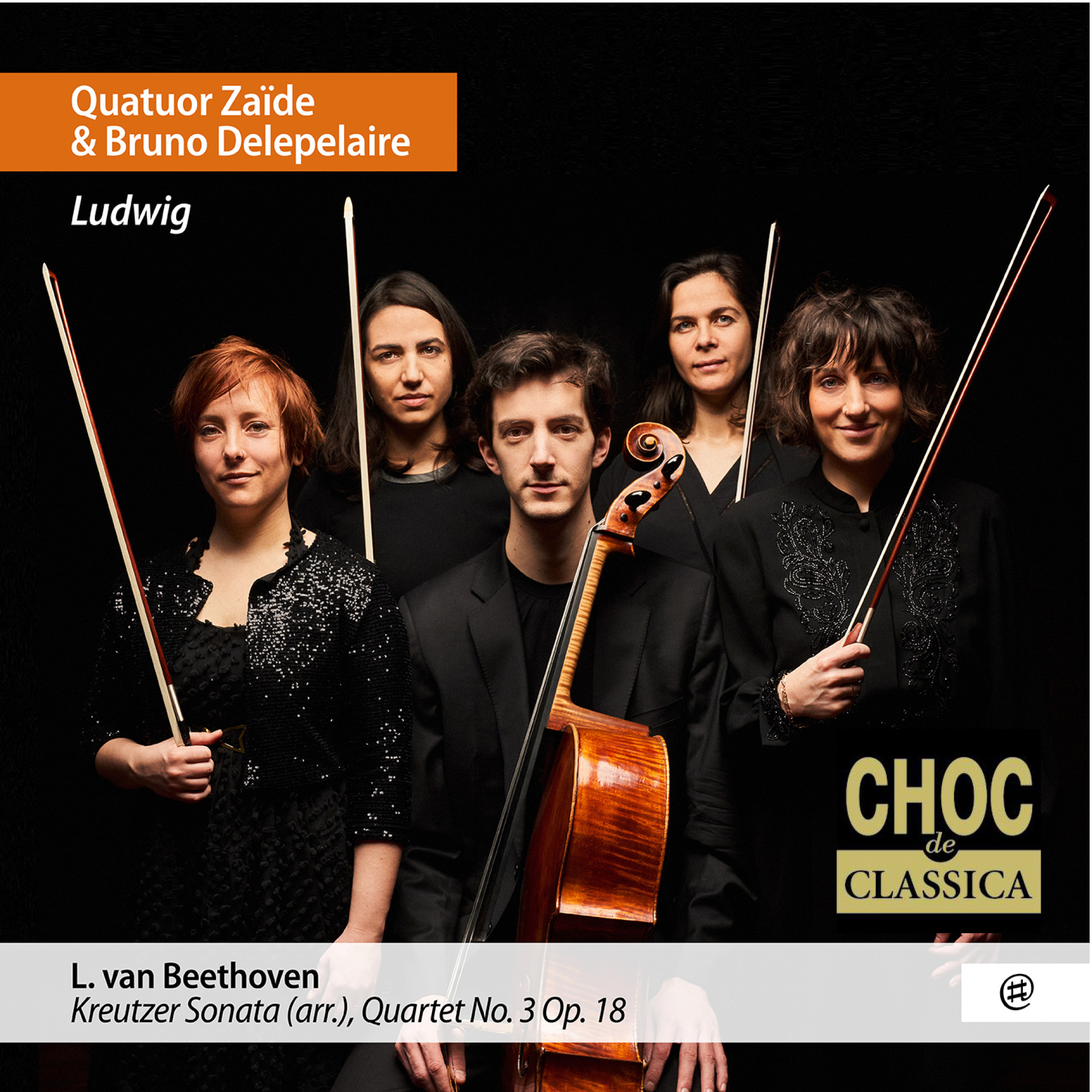 Ludwig - Quatuor Zaïde, Bruno Delepelaire