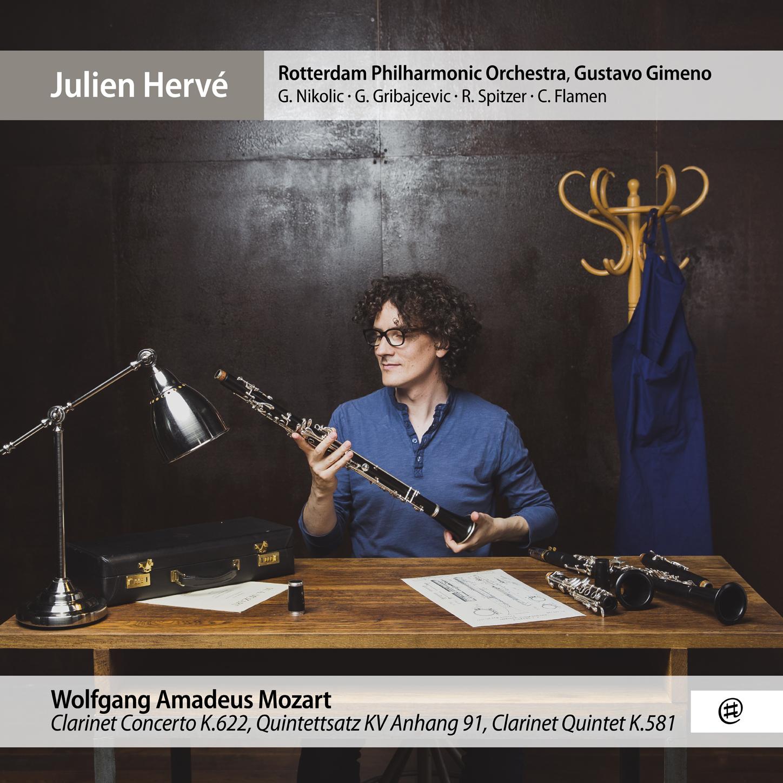 Mozart | Clarinet Works - Julien Hervé, Rotterdam Philharmonic Orkest