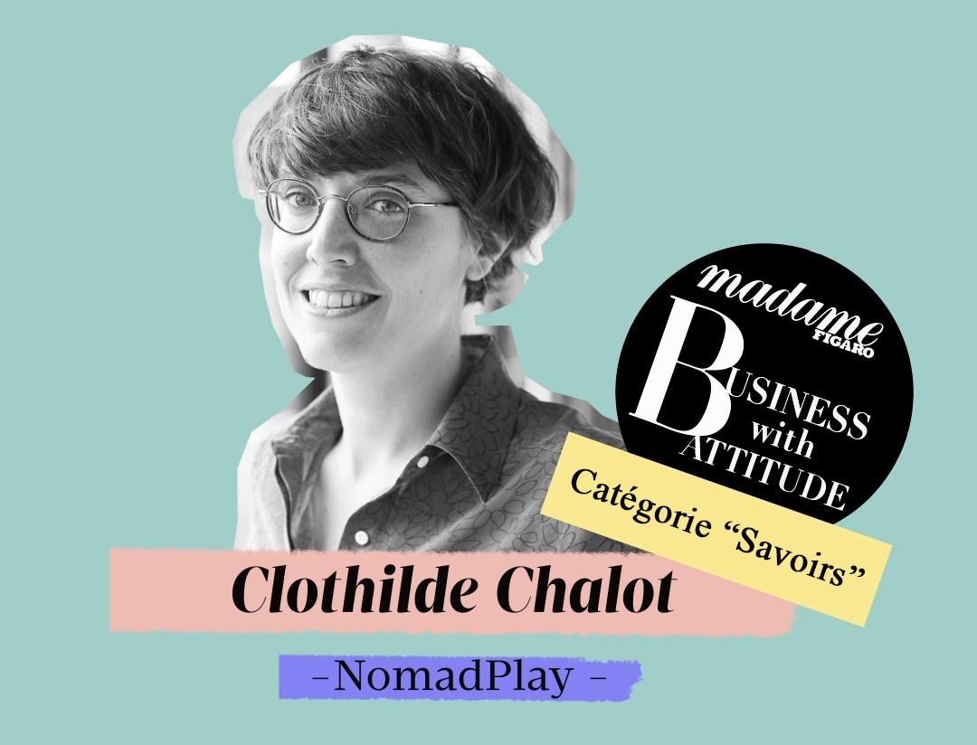 Clothilde Chalot, lauréate du prix Business with Attitude 2020