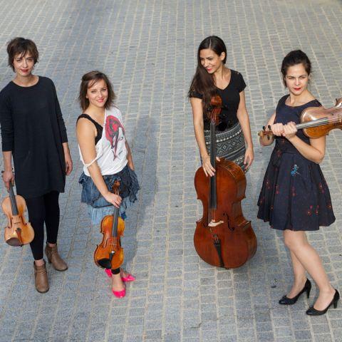 Le Quatuor Zaïde à Cortot !