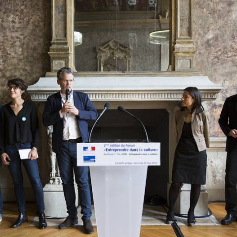 """NoMadMusic remporte le Prix IFCIC """"Entreprendre dans la Culture"""""""